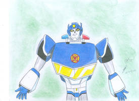 Chase transformers rescue bots tfs animated style by ailgara