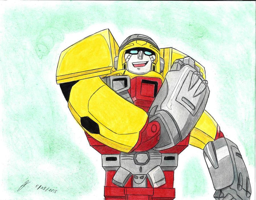 Mis dibujos de Transformers - Página 15 Hot_shot_transformers_armada_by_ailgara-d96ra0s