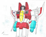 Starscream G1 new drawing 2015