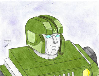 first drawing Hound G1 transformers by ailgara
