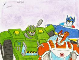 transformers rescue bots TFA by ailgara