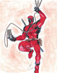 finished the drawing of Deadpool by ailgara