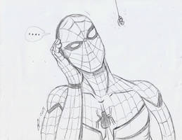 spiderman sketch number 2 by ailgara