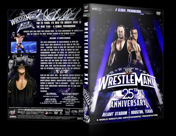 WrestleMania 25 DVD Cover by Y0urJoker