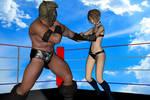 Daz3d: Mixed Wrestling test Part 5