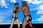 Daz3d: Mixed Wrestling test Part 4