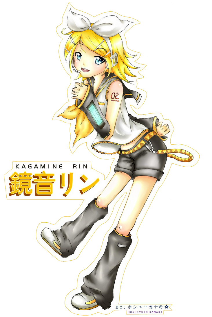 Kagamine_-_Rin by H-Kanaki