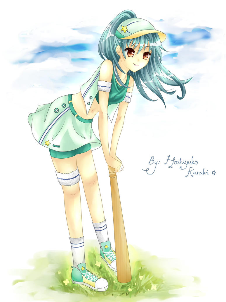 Sporty Girl by H-Kanaki