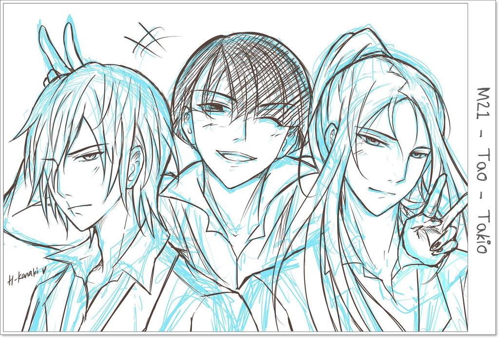 Noblesse - M21 Tao Takio Sketch by H-Kanaki