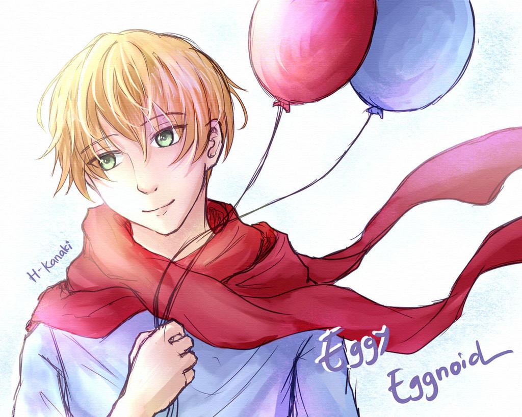 Eggy Eggnoid by H-Kanaki