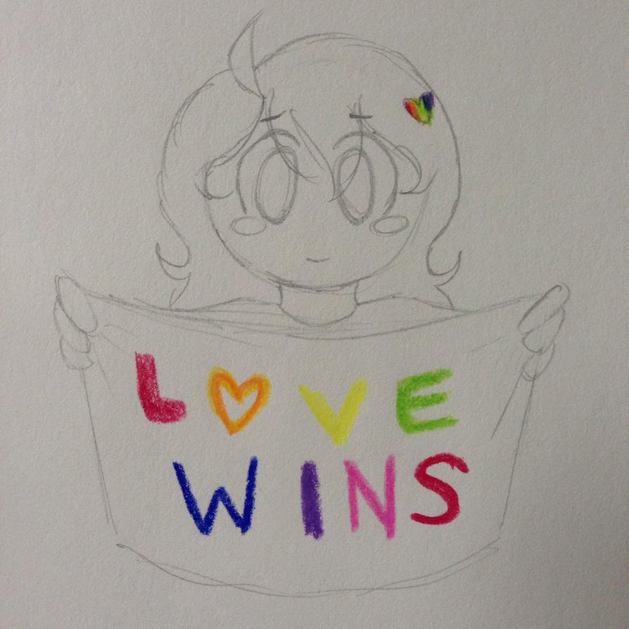 Love Wins by Alison-Earth-Ninja