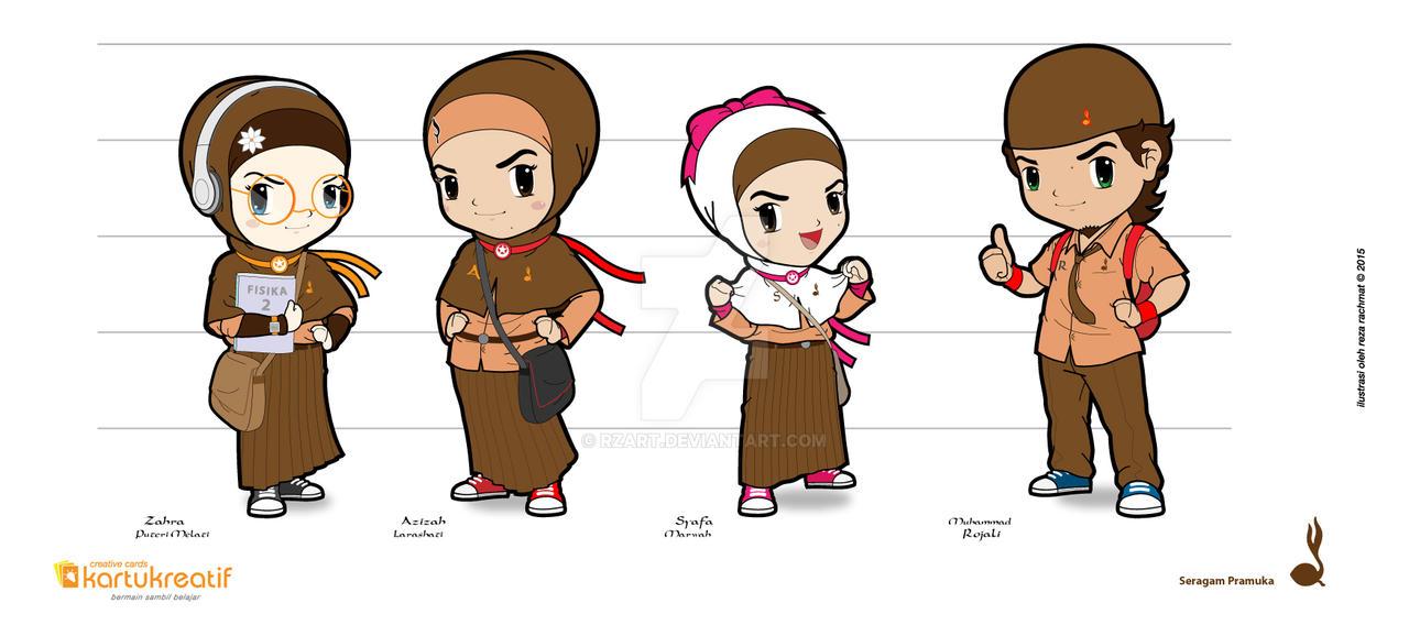 AZIZAH dkk 2-02 by rzart