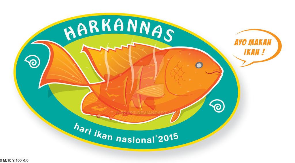 Logo Harkanas Gurame Goreng by rzart