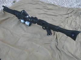 BlasTech DC-15A Blaster rifle by shrasik