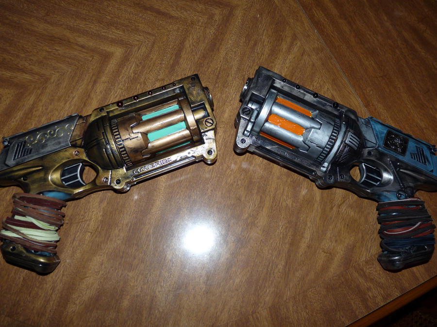Nerf N-Strike Maverick by Red-Weaponry
