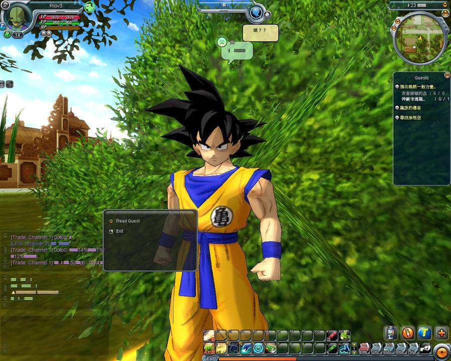 dragonball z online free