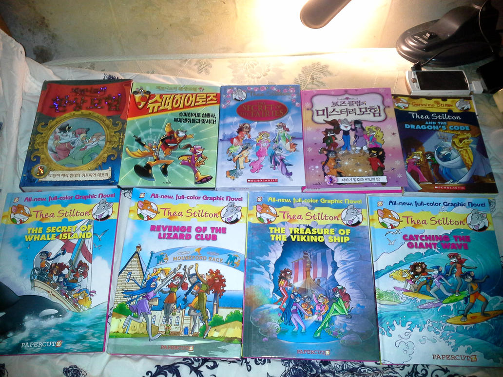 My Collection of Geronimo Stilton Series by HanSHangul