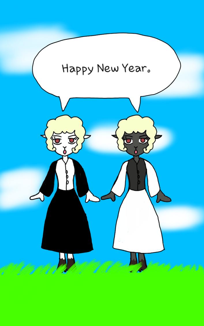 New Year Art by HanSHangul