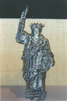 Can Tab Statue of Liberty