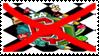 Anti La CQ stamp by AndresToons