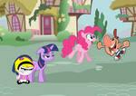 Billy, Mandy, Twilight y Pinkie