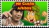 El Chavo original y animado stamp