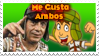 El Chavo original y animado stamp by AndresToons