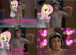 El Chavo se enamoro de Fluttershy XD
