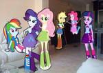 Equestria Girls en mi casa
