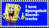 Spongebob Soundtracks Stamp