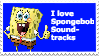 Spongebob Soundtracks Stamp by AndresToons