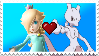 Rosalina X Mewtwo Stamp (Request) by AndresToons