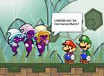 Mario y Luigi conocen a las Dazzlings