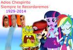 Adios Chespirito...