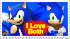 Sonic and Sonic Boom Stamp