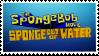 Spongebob Sponge Out of Water Stamp