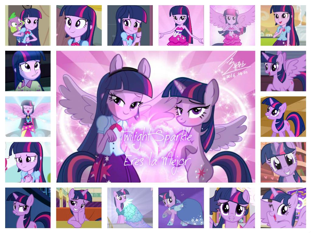 Collage de Twilight Sparkle