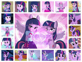 Collage de Twilight, mi waifu :3