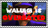 Waluigi is Overrated stamp