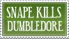 SNAPE KILLS DUMBLEDORE by FreakishZombie
