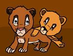 Kiara and Kovu's cubs