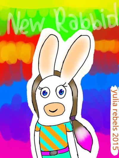 New my Rabbid by YuliaRabbid