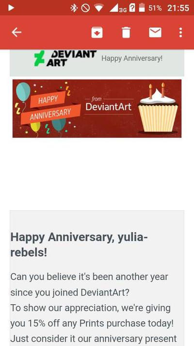 Thanks DA! by YuliaRabbid