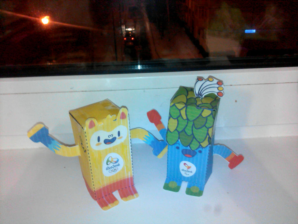 Paper Toy Vinicius and Tom by YuliaRabbid