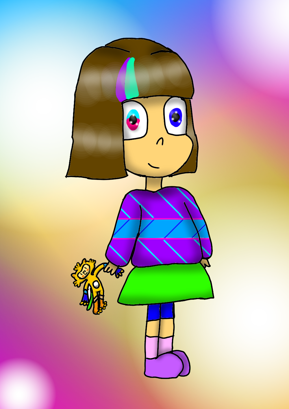 Mascot!Frisk #6 by YuliaRabbid