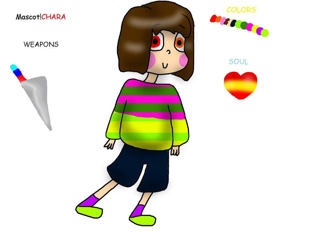 Mascot!CHARA by YuliaRabbid