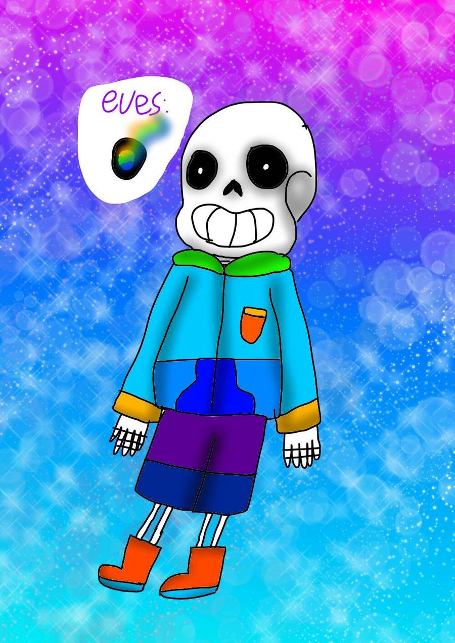 Mascot!Sans by YuliaRabbid