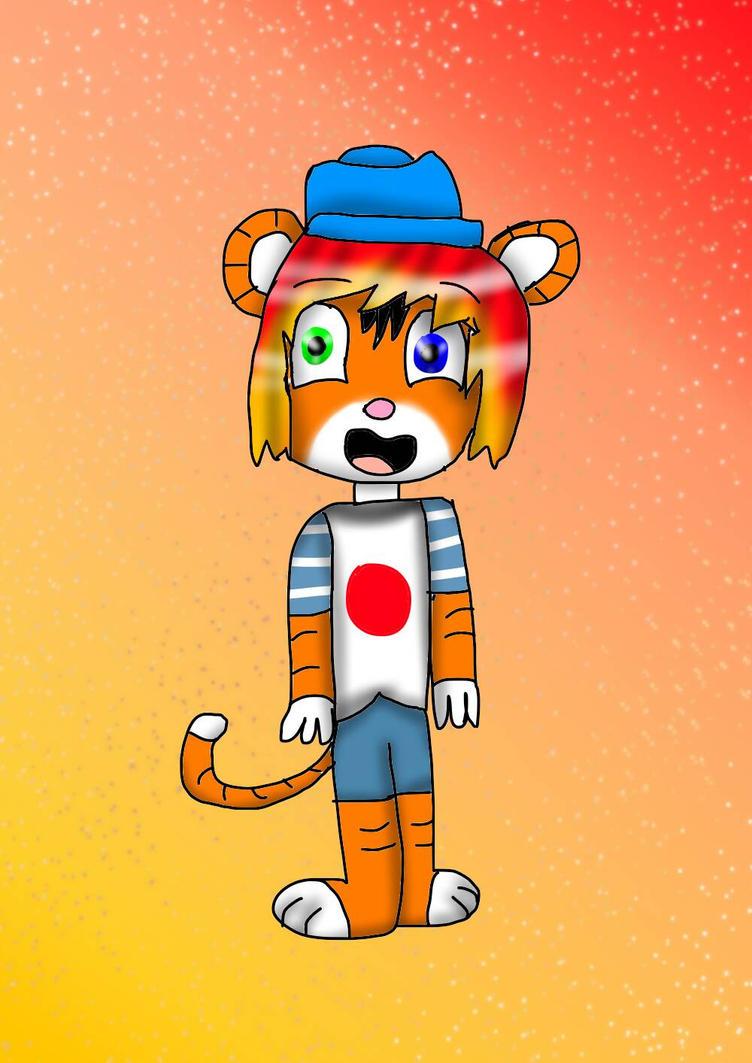 Drawing to order #8 | Odoroki the tiger by YuliaRabbid