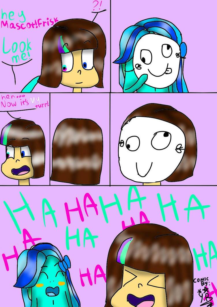 Heh fun! Comic by YuliaRabbid