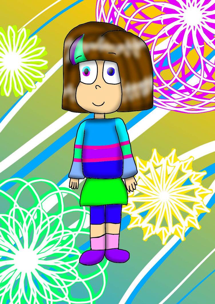 I changed the Mascot!Frisk Heheheh :D by YuliaRabbid